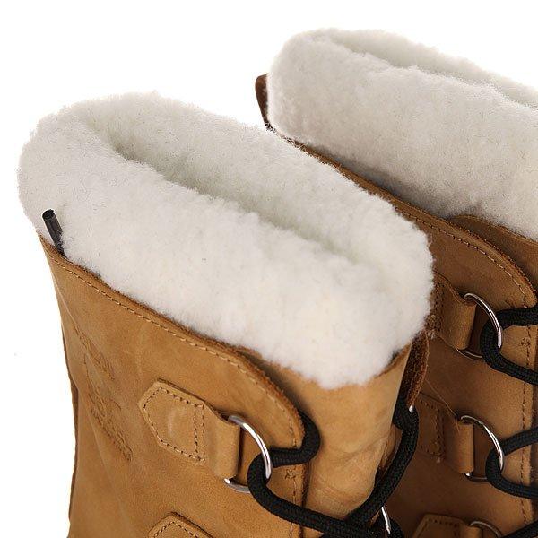 Сапоги зимние детские Sorel Youth Caribou An Buff