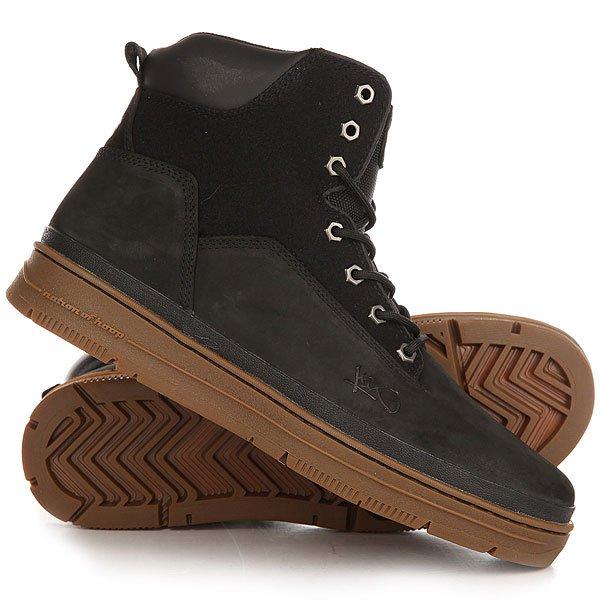 Ботинки высокие K1X State Sport Black Gum<br><br>Цвет: черный<br>Тип: Ботинки высокие<br>Возраст: Взрослый<br>Пол: Мужской