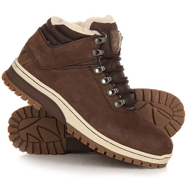 Ботинки зимние K1X H1ke Territory Dark Brown