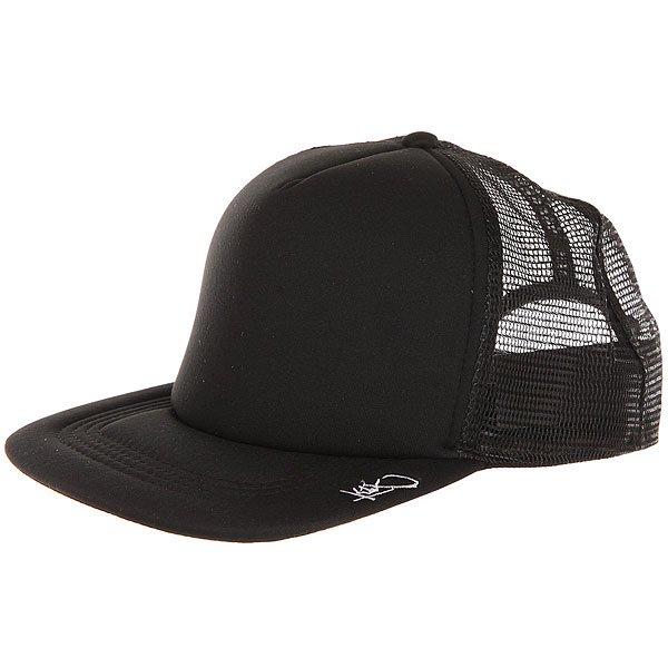 Бейсболка с сеткой K1X Plain Tag Trucker Cap Black/White<br><br>Цвет: черный<br>Тип: Бейсболка с сеткой<br>Возраст: Взрослый<br>Пол: Мужской