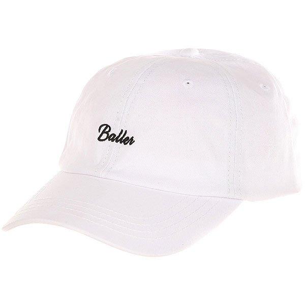 Бейсболка классическая K1X Baller Dad Cap White