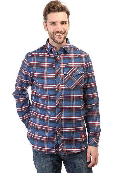 Рубашка в клетку Skills Check Shirt Blue/Red<br><br>Цвет: синий,красный<br>Тип: Рубашка в клетку<br>Возраст: Взрослый<br>Пол: Мужской