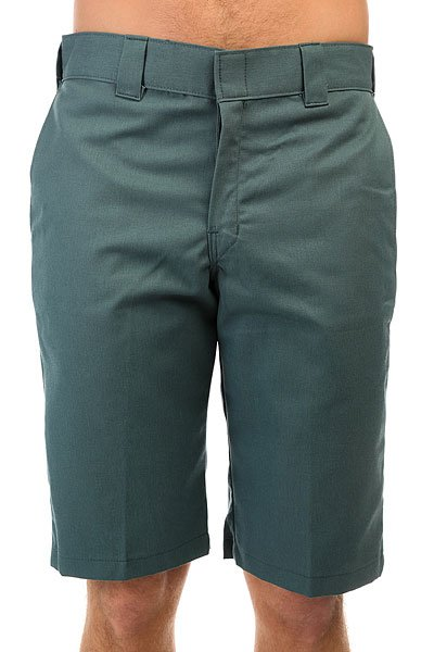 Шорты классические Dickies Slim Fit Work Short Lincoln Green<br><br>Цвет: зеленый<br>Тип: Шорты классические<br>Возраст: Взрослый<br>Пол: Мужской
