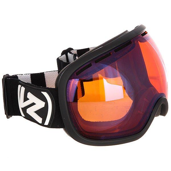Купить со скидкой Маска для сноуборда Von Zipper Fishbowl Black Satin/Wildlife Low Light