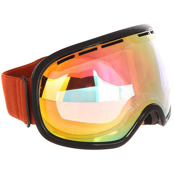 Маска для сноуборда Von Zipper Fishbowl Black Gloss/Clear Chrome OrangeБольшая маска с широкими вентилируемыми линзами и отличным периферийным обзором для повышенной остроты зрения! Удобная маска для любых условий.Технические характеристики: Эргономичная оправа из термополиуретана.100% защита от ультрафиолетовых лучей.Двойные сферические линзы из поликарбоната.Максимальное периферийное зрение.Вентиляция для максимального воздушного потока.Покрытие против запотевания Anti-Fog.Тройной слой пены и слой флиса.Двойной регулируемый ремень.Маска совместима со шлемом.Чехол из микрофибры.<br><br>Цвет: черный<br>Тип: Маска для сноуборда<br>Возраст: Взрослый<br>Пол: Мужской
