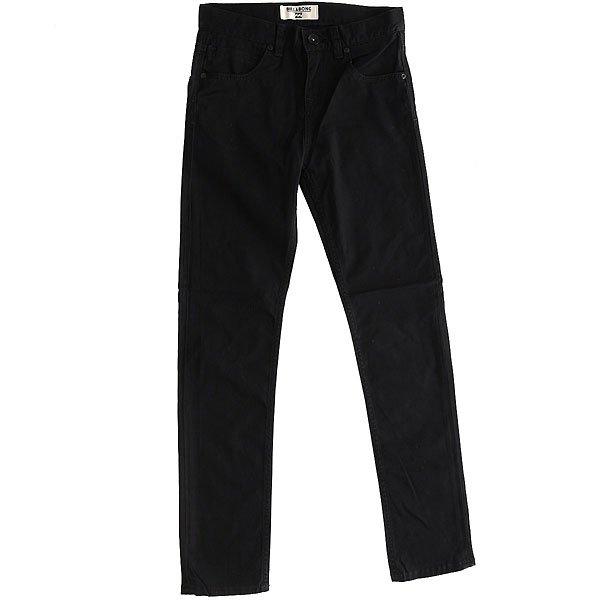 Штаны узкие детские Billabong Harris Color Black