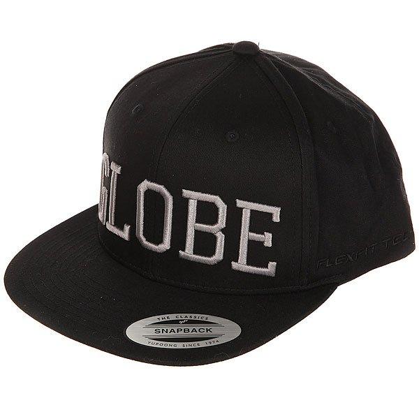 Бейсболка с прямым козырьком Globe Matlock Cap Black<br><br>Цвет: черный<br>Тип: Бейсболка с прямым козырьком<br>Возраст: Взрослый<br>Пол: Мужской