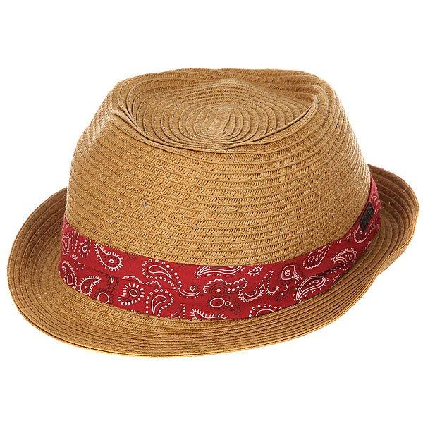 Шляпа Globe Radcliffe Fedora Natural<br><br>Цвет: коричневый<br>Тип: Шляпа<br>Возраст: Взрослый<br>Пол: Мужской