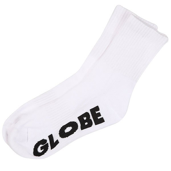 Носки средние Globe Stealth Crew Sock White/Black