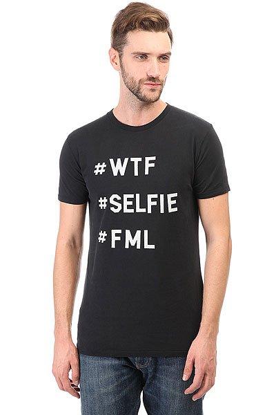 Футболка Globe Selfie Black Acid<br><br>Цвет: черный<br>Тип: Футболка<br>Возраст: Взрослый<br>Пол: Мужской