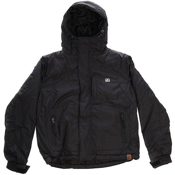 Куртка детская Globe Albany Jacket BlackДетская демисезонная куртка с утеплителем. Является воплощением городского стиля, идеальна для прогулок. Благодаря слою утеплителя, эту куртку можно носить и зимой с теплым свитером. Характеристики:Оболочка и подкладка сделаны из 100% полиэстера. Два боковых кармана. Фиксированный капюшон. Двойная застежка (молния и липучки). Регулируемые манжеты на липучках.<br><br>Цвет: черный<br>Тип: Куртка<br>Возраст: Детский
