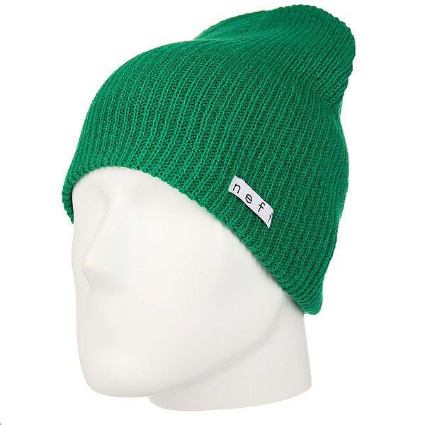 Шапка Neff Daily Beanie Green<br><br>Цвет: зеленый<br>Тип: Шапка<br>Возраст: Взрослый<br>Пол: Мужской