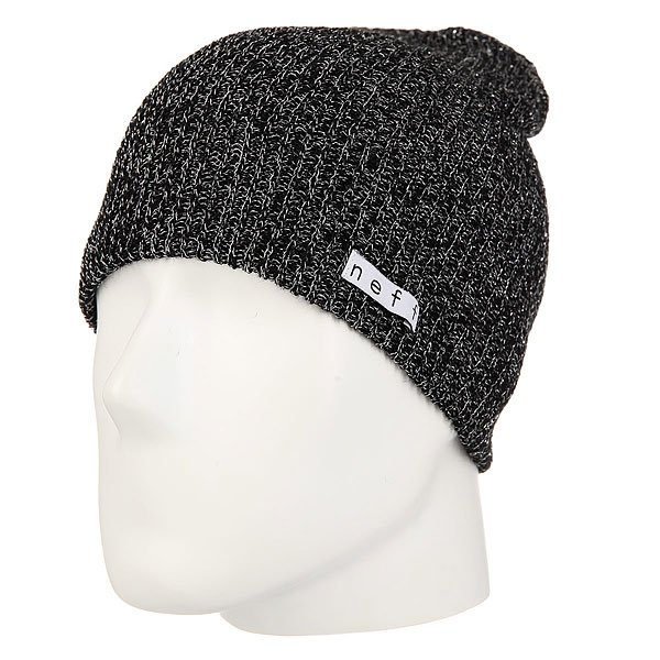 Шапка женская Neff Daily Sparkle Beanie Black neff рубашка neff daily button up teal