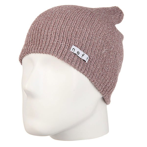 Шапка женская Neff Daily Sparkle Beanie Rose neff рубашка neff daily button up teal