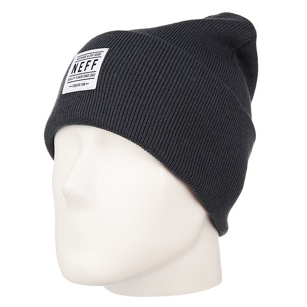 Шапка Neff Lawrence Beanie Charcoal Heather
