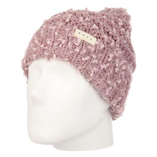 Шапка женская Neff Rose Beanie Rose<br><br>Цвет: бежевый,розовый<br>Тип: Шапка<br>Возраст: Взрослый<br>Пол: Женский