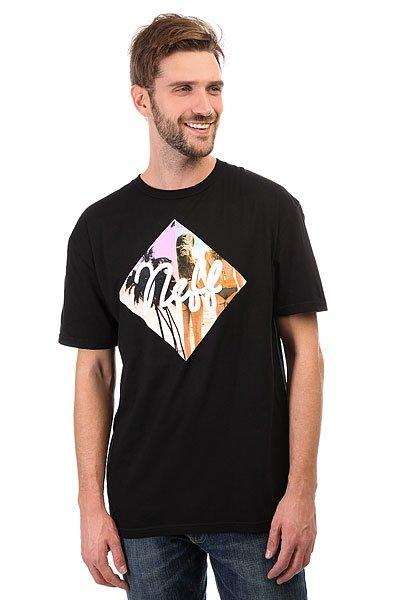 Футболка Neff Diamond Summer Beaches Black<br><br>Цвет: черный<br>Тип: Футболка<br>Возраст: Взрослый<br>Пол: Мужской