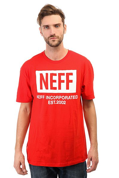 Футболка Neff New World Red<br><br>Цвет: красный<br>Тип: Футболка<br>Возраст: Взрослый<br>Пол: Мужской