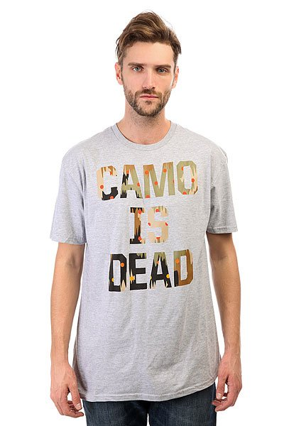 Футболка Neff Camo Is Dead Athletic Heather cecile is dead 20