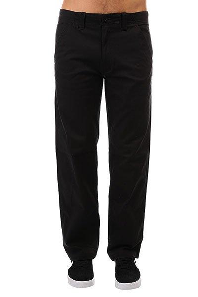 Штаны прямые Element Unoin Black<br><br>Цвет: черный<br>Тип: Штаны прямые<br>Возраст: Взрослый<br>Пол: Мужской