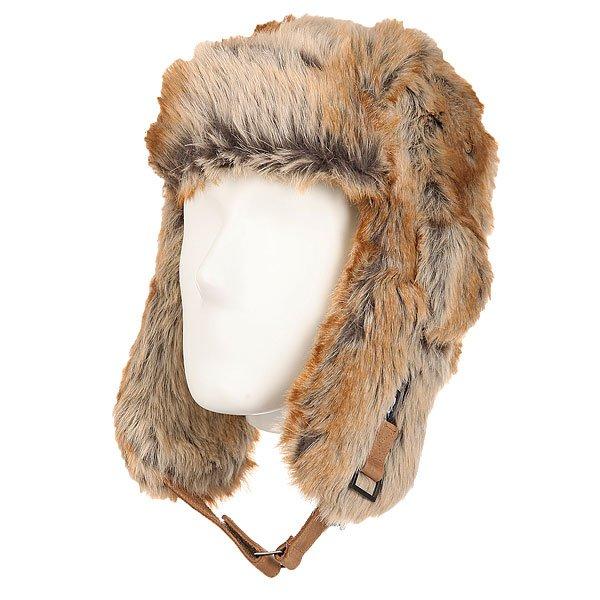 Шапка ушанка Picture Organic Picsa Full Fure<br><br>Цвет: коричневый,бежевый<br>Тип: Шапка ушанка<br>Возраст: Взрослый<br>Пол: Мужской