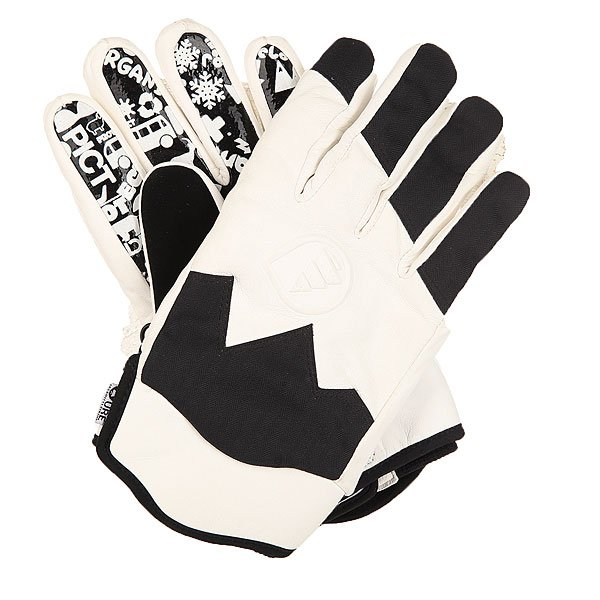 Перчатки сноубордические Picture Organic Sheeper BlackУдобные сноубордические перчатки укороченного кроя.Характеристики:Внутренняя вставка – влагопроглощающий флис.Классическое короткое запястье. Мягкая флисовая нашивка на большом пальце для протирания очков. Силиконовый принт на ладони. Тисненный логотип производителя.<br><br>Цвет: черный,белый<br>Тип: Перчатки сноубордические<br>Возраст: Взрослый<br>Пол: Мужской