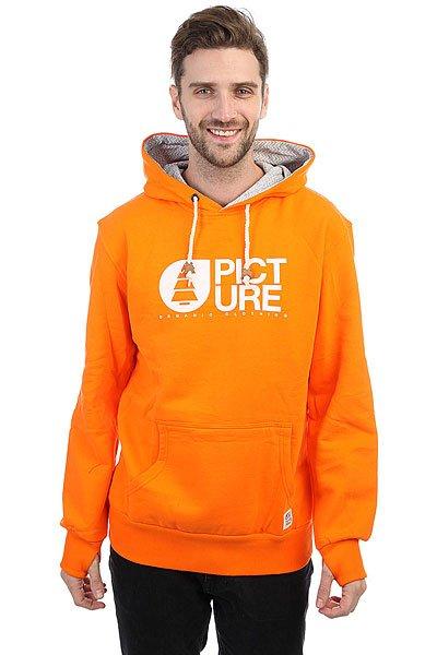Толстовка кенгуру Picture Organic Basement Skate Orange<br><br>Цвет: оранжевый<br>Тип: Толстовка кенгуру<br>Возраст: Взрослый<br>Пол: Мужской