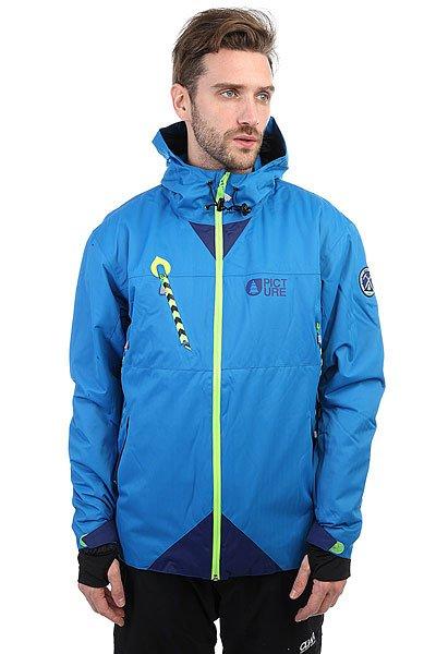 Куртка утепленная Picture Organic Contrast BlueТехнологичная сноубордическая куртка из переработанного полиэстера с утеплителем и мембраной.Технические характеристики: Переработанный полиэстер.Подкладка Coremax.Утеплитель 80 гр.Технология Thermal Dry System сохранит тепло тела, обеспечивая дополнительный уровень защиты от холода.Водонепроницаемое покрытие DWR PFOA PFOS FREE.Критические швы проклеены.Водонепроницаемые молнии YKK.Вентиляционные молнии.Внутренние эластичные манжеты из лайкры с отверстием для пальца.Карманы для рук, скипасс карман.Салфетка для протирки маски.Фиксированная снежная юбка с креплением для штанов.<br><br>Цвет: синий<br>Тип: Куртка утепленная<br>Возраст: Взрослый<br>Пол: Мужской