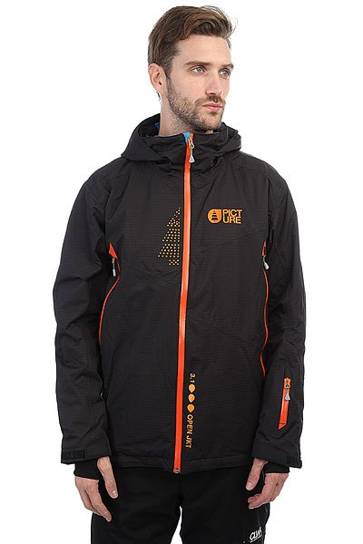 Куртка утепленная Picture Organic Open BlackИдеальная сноубордическая куртка, которая позволит кататься весь день независимо от погоды.Технические характеристики: Переработанный полиэстер.Технология Thermal Dry System сохранит тепло тела, обеспечивая дополнительный уровень защиты от холода.Водонепроницаемое покрытие DWR PFOA PFOS FREE.Проклеенные швы.Молнии YKK.Вентиляционные молнии.Внутренние эластичные манжеты из лайкры с отверстием для пальца.Карманы для рук, скипасс карман, карман для маски, медиа карман.Фиксированная снежная юбка с креплением для штанов.<br><br>Цвет: синий<br>Тип: Куртка утепленная<br>Возраст: Взрослый<br>Пол: Мужской
