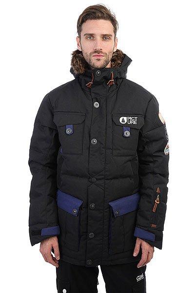цены Куртка парка Picture Organic Leno Real Black