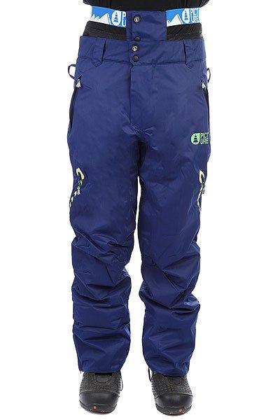 Штаны сноубордические Picture Organic Contrast Dark Blue брюки сноубордические цена 1500