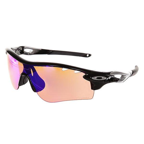 Очки Oakley Radarlock Path Polished Black/Prizm Trail N Clear VentedРеволюционные очки, которые позволят спортсменам пользоваться всеми преимуществами оптики Oakley благодаря быстрой системе смены линз Switchlock™.Технические характеристики: Технология PRIZM™ настраивает оптику для конкретных видов спорта и окружающей среды.Форма линзы Path для повышенной производительности, помогает расширить обзор.Линзы Plutonite® с высокой UV защитой.Технология Switchlock™ позволяет быстро и безопасно сменить линзу.Легкая и прочная оправа O Matter™ из стрессоустойчивого материала для комфорта и защиты.Оптика высокой четкости HDO® для оптической ясности, визуальной точности и ударопрочности.<br><br>Цвет: черный<br>Тип: Очки<br>Возраст: Взрослый<br>Пол: Мужской