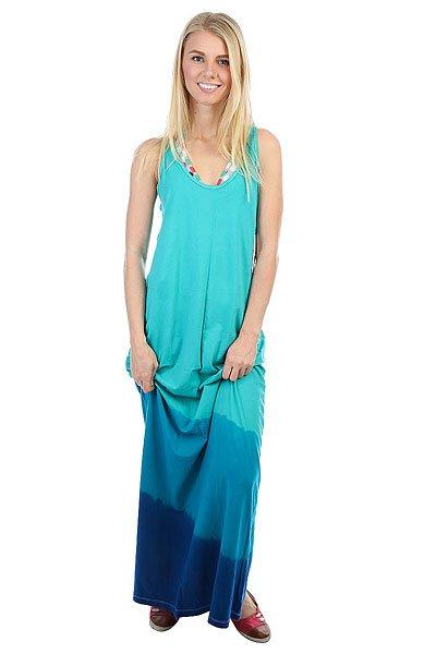 Платье женское Oakley Peak Breeze Maxi White<br><br>Цвет: синий,голубой<br>Тип: Платье<br>Возраст: Взрослый<br>Пол: Женский
