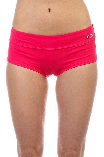 Плавки женские Oakley Real Gone Swim Short Real Bright Fuchsia<br><br>Цвет: розовый<br>Тип: Плавки<br>Возраст: Взрослый<br>Пол: Женский