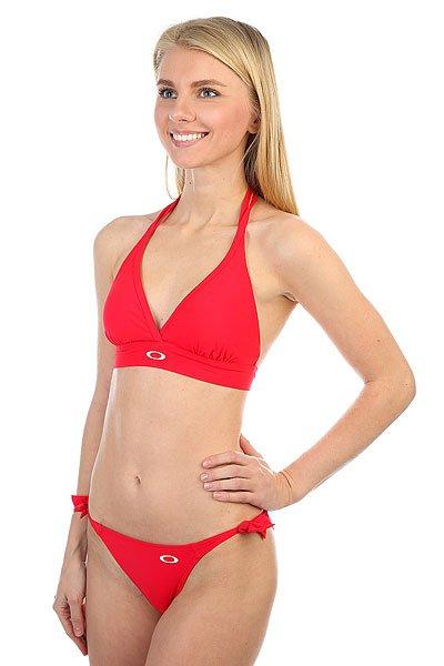 Купальник женский Oakley Dolly Top Cherry Red<br><br>Цвет: красный<br>Тип: Купальник<br>Возраст: Взрослый<br>Пол: Женский