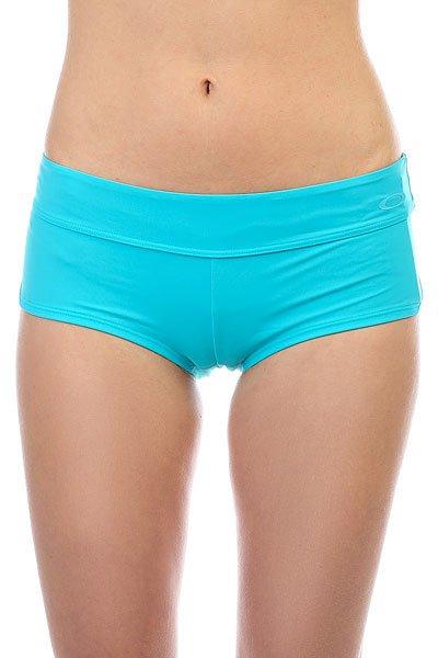 Трусы женские Oakley Real Gone Swim Short Bright Aqua<br><br>Цвет: голубой<br>Тип: Трусы<br>Возраст: Взрослый<br>Пол: Женский