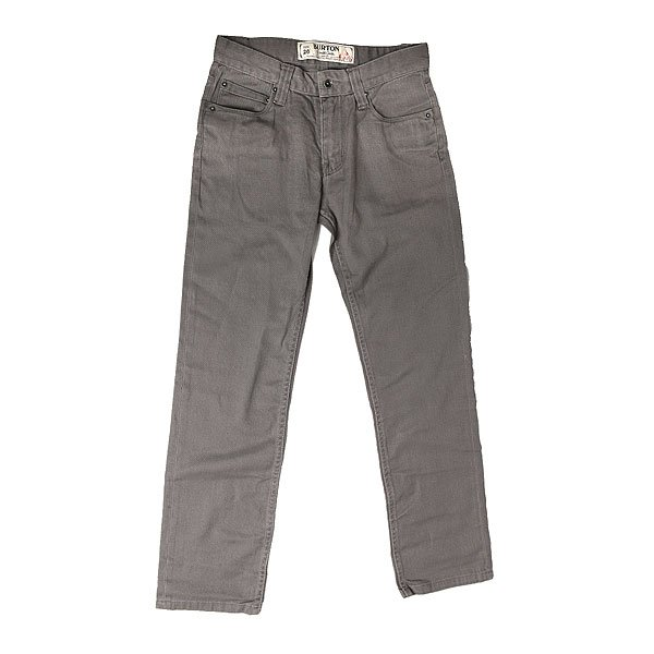 Джинсы прямые детские Burton B77 Pant Dark Ash