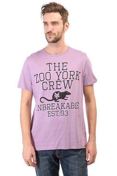 Футболка Zoo York Z Black Purple<br><br>Цвет: фиолетовый<br>Тип: Футболка<br>Возраст: Взрослый<br>Пол: Мужской
