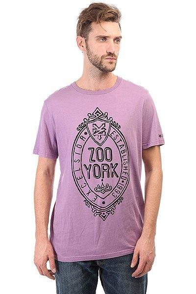 Футболка Zoo York Z White Purple<br><br>Цвет: фиолетовый<br>Тип: Футболка<br>Возраст: Взрослый<br>Пол: Мужской