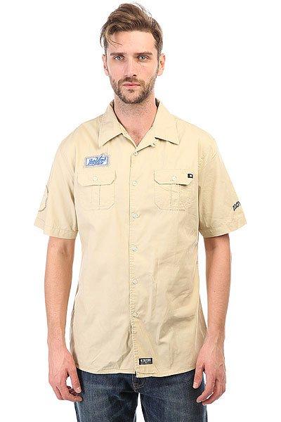 Рубашка Zoo York District Trader<br><br>Цвет: бежевый<br>Тип: Рубашка<br>Возраст: Взрослый<br>Пол: Мужской