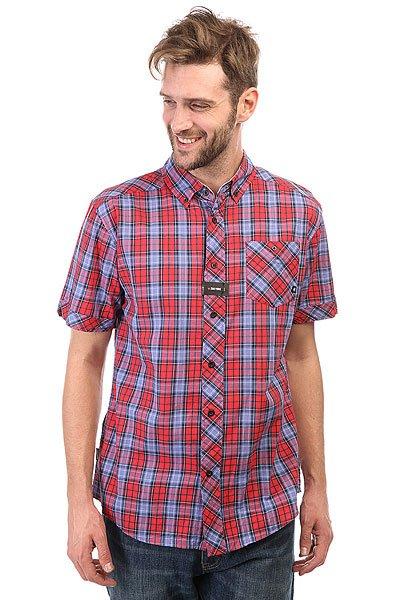 Рубашка в клетку Zoo York Prospect Crimson<br><br>Цвет: красный,синий<br>Тип: Рубашка в клетку<br>Возраст: Взрослый<br>Пол: Мужской