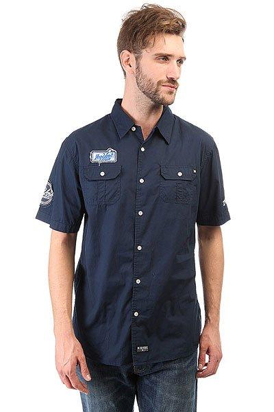 Рубашка Zoo York District Navy<br><br>Цвет: синий<br>Тип: Рубашка<br>Возраст: Взрослый<br>Пол: Мужской