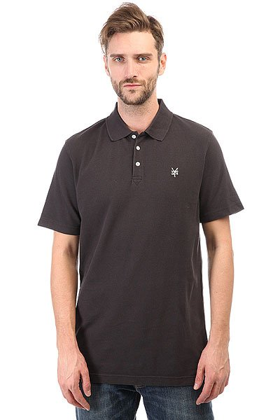 Поло Zoo York Premier Polo Washed Black