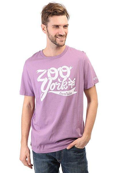 Футболка Zoo York Zys11-90351 Slate<br><br>Цвет: фиолетовый<br>Тип: Футболка<br>Возраст: Взрослый<br>Пол: Мужской