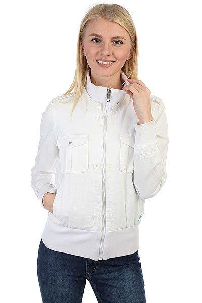 Куртка женская Zoo York Zys09-36003 White<br><br>Цвет: белый<br>Тип: Куртка<br>Возраст: Взрослый<br>Пол: Женский