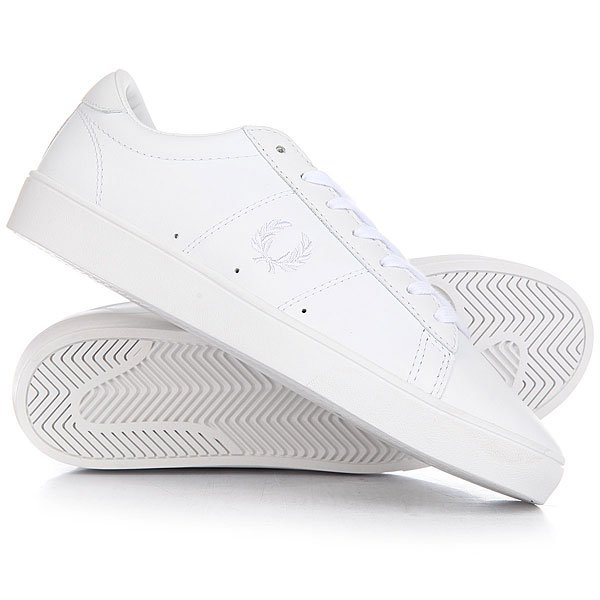 Кеды кроссовки низкие Fred Perry Spencer Leather Real WhiteСтильные кеды, которые берут свое начало от оригинальной теннисной обуви.Технические характеристики: Кожаный верх.Мягкая кожаная подкладка и дышащая стелька.Длинная плоская шнуровка.Прочная резиновая подошва.Вышитый логотип Fred Perry.<br><br>Цвет: белый<br>Тип: Кеды низкие<br>Возраст: Взрослый<br>Пол: Мужской