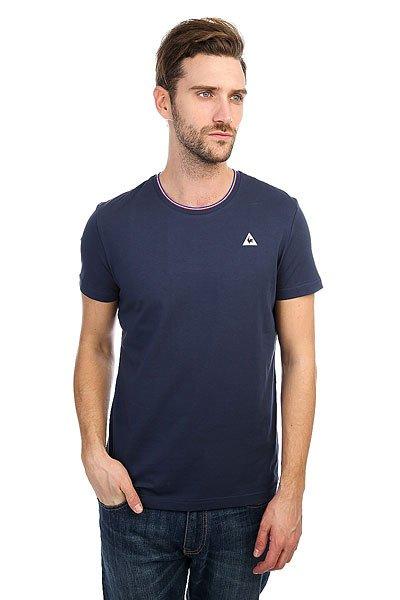 Футболка Le Coq Sportif Anglin Dress Blues<br><br>Цвет: синий<br>Тип: Футболка<br>Возраст: Взрослый<br>Пол: Мужской