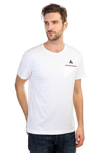 Футболка Le Coq Sportif Fluorin White<br><br>Цвет: белый<br>Тип: Футболка<br>Возраст: Взрослый<br>Пол: Мужской
