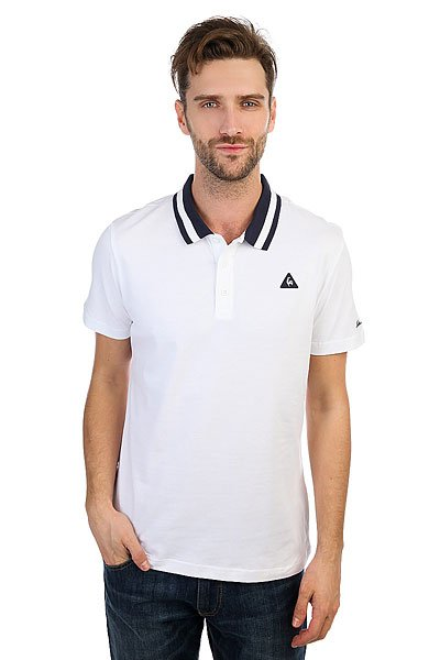 Поло Le Coq Sportif Arthur Ashe N°1 Optical White
