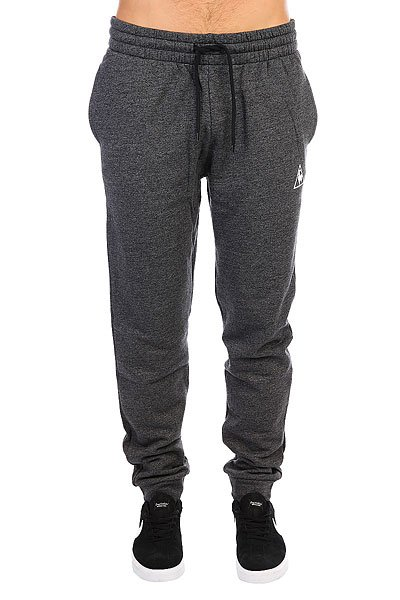 Штаны спортивные Le Coq Sportif Pant Bar Reg Br Heather Black